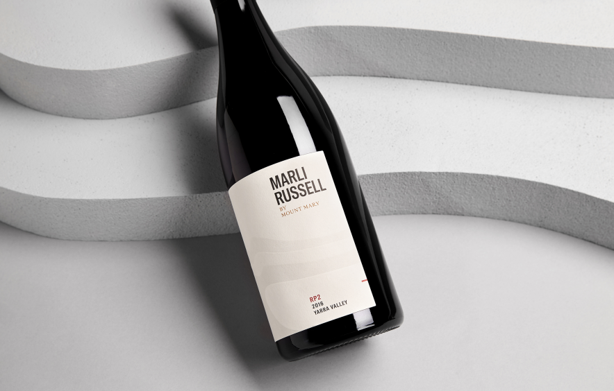 Minimal Wine Label Design. Winery Vineyard Branding.